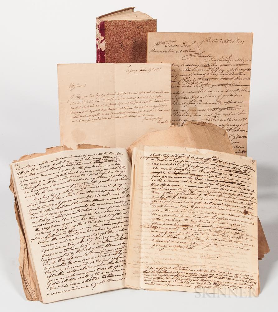 Tudor, William Jr. (1779-1830) Manuscript Archive.