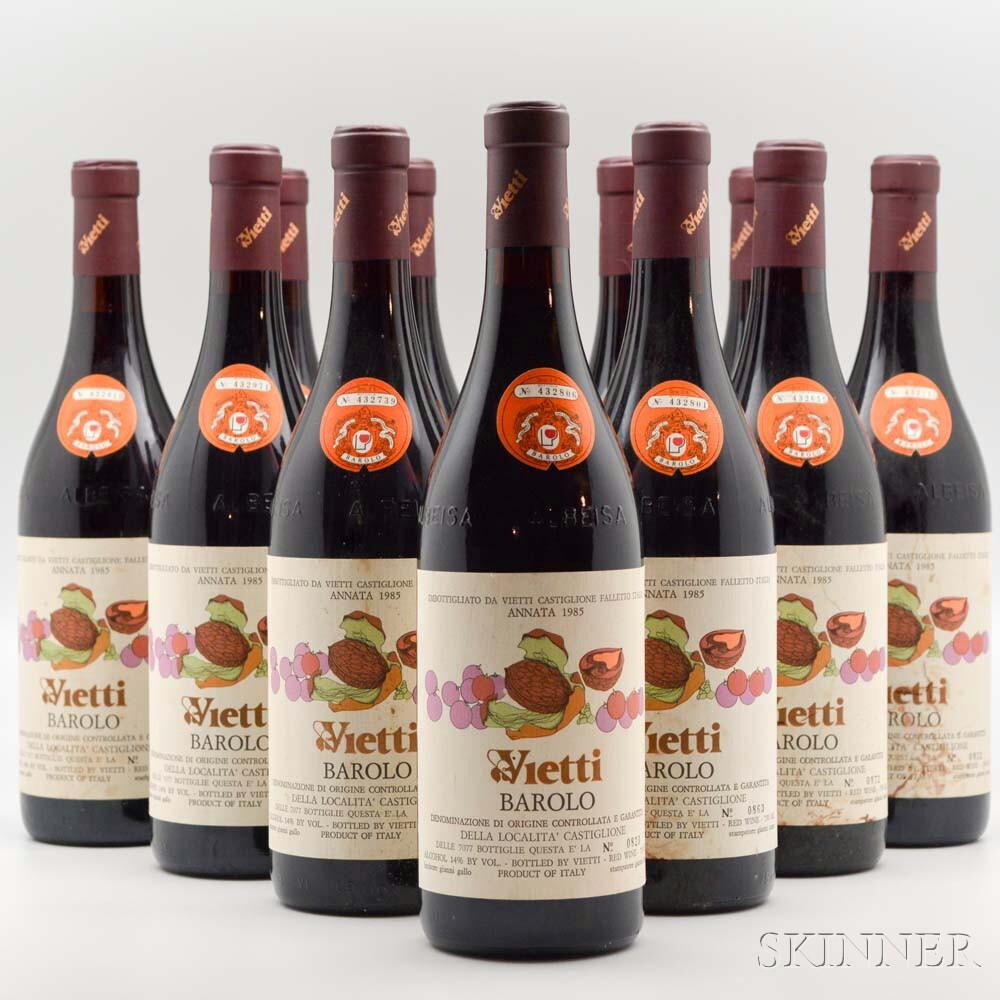 Vietti Barolo 1985, 12 bottles