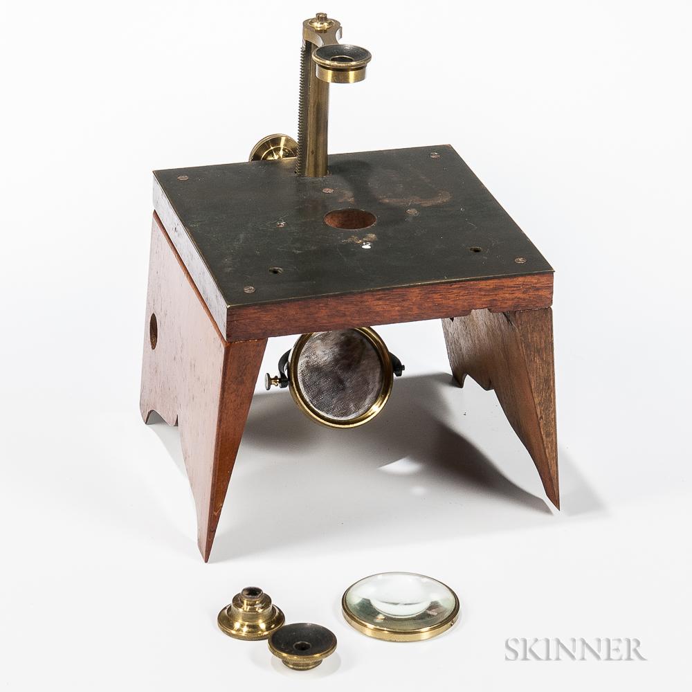 Quekett-type Dissecting Portable Microscope