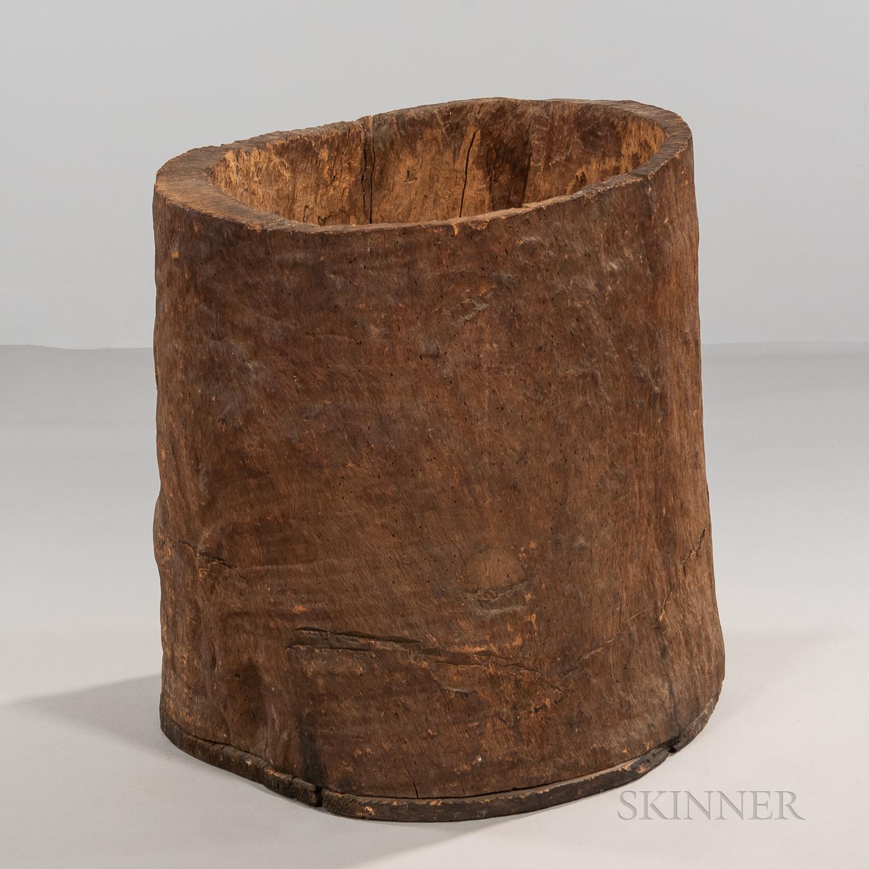 Large Hornbeam Barrel