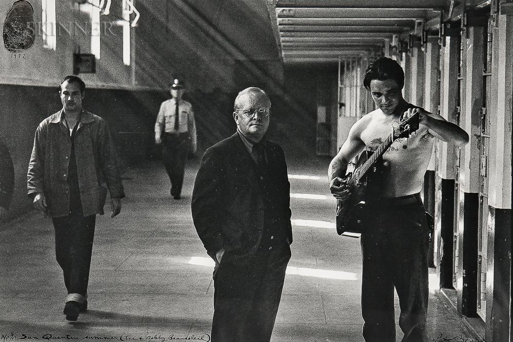 Peter Beard (American, b. 1938)      San Quentin Summer (T.C.+ Bobby Beausoleil)