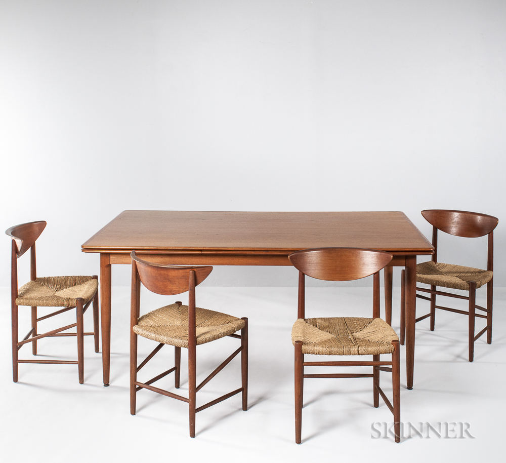 Peter Hvidt & Orla Molgaard Dining Table and Eight Chairs