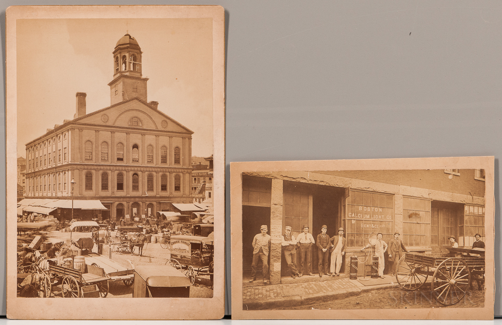 Boston, Early Photographs, Six Images.