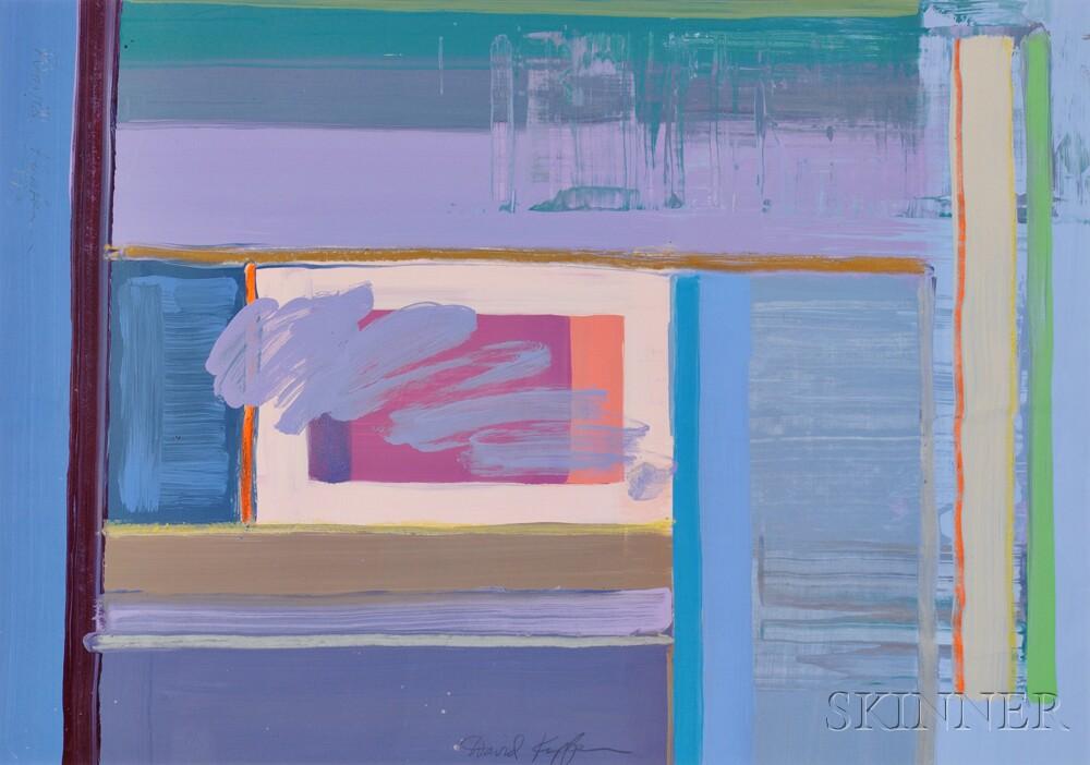 David Kupferman (American, b. 1946)    Lyric Abstraction