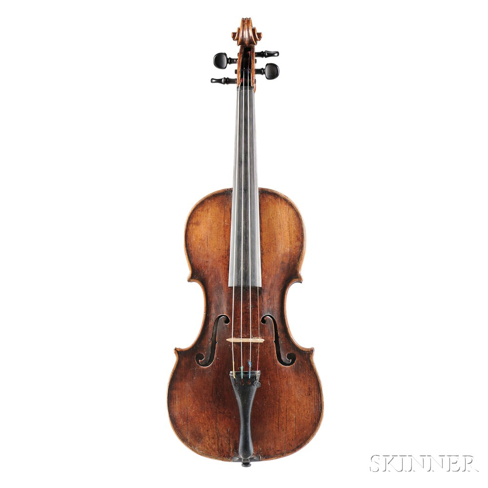 Tyrolean Violin, possibly Albani School, 18th Century