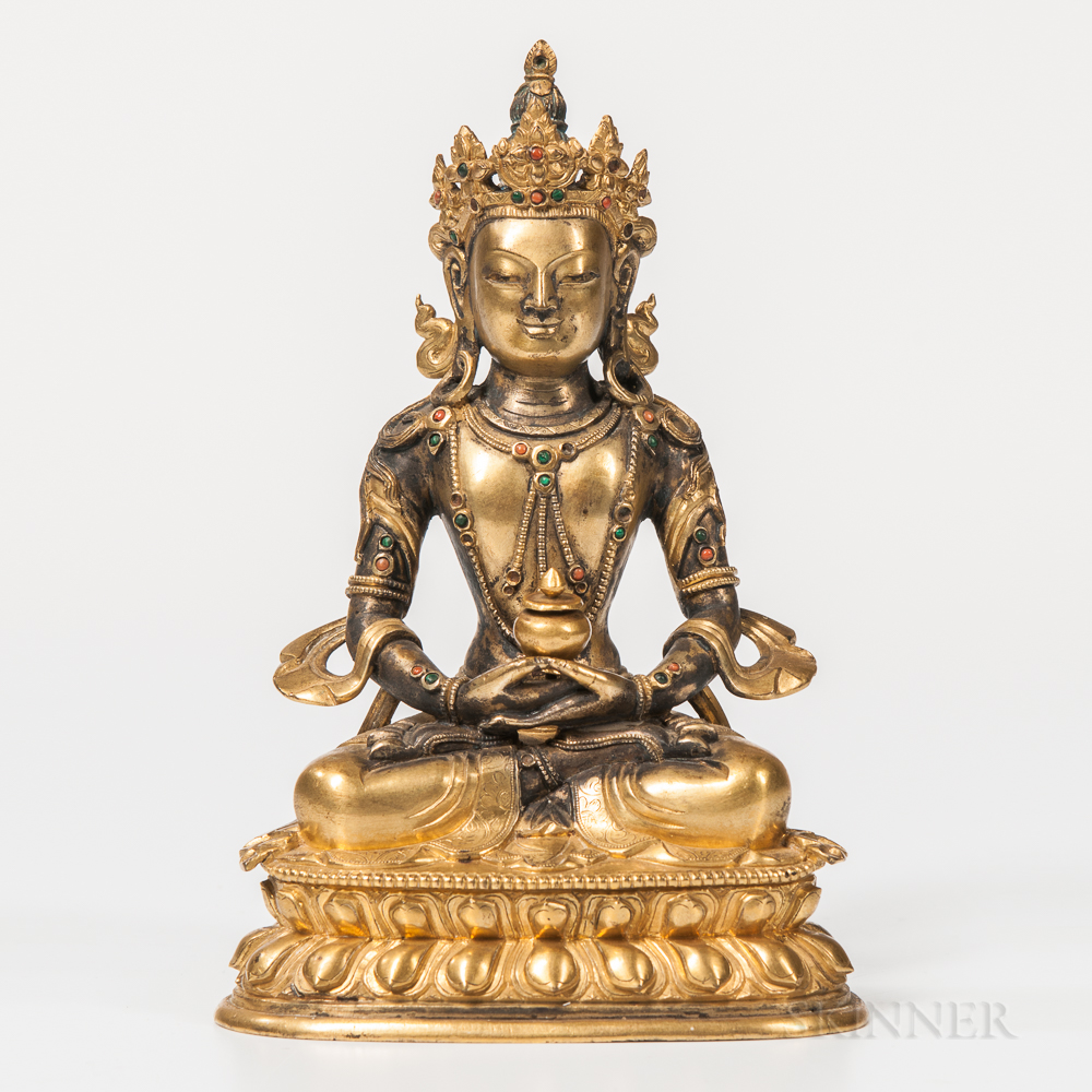 Gilt-bronze Figure of Avalokitesvara