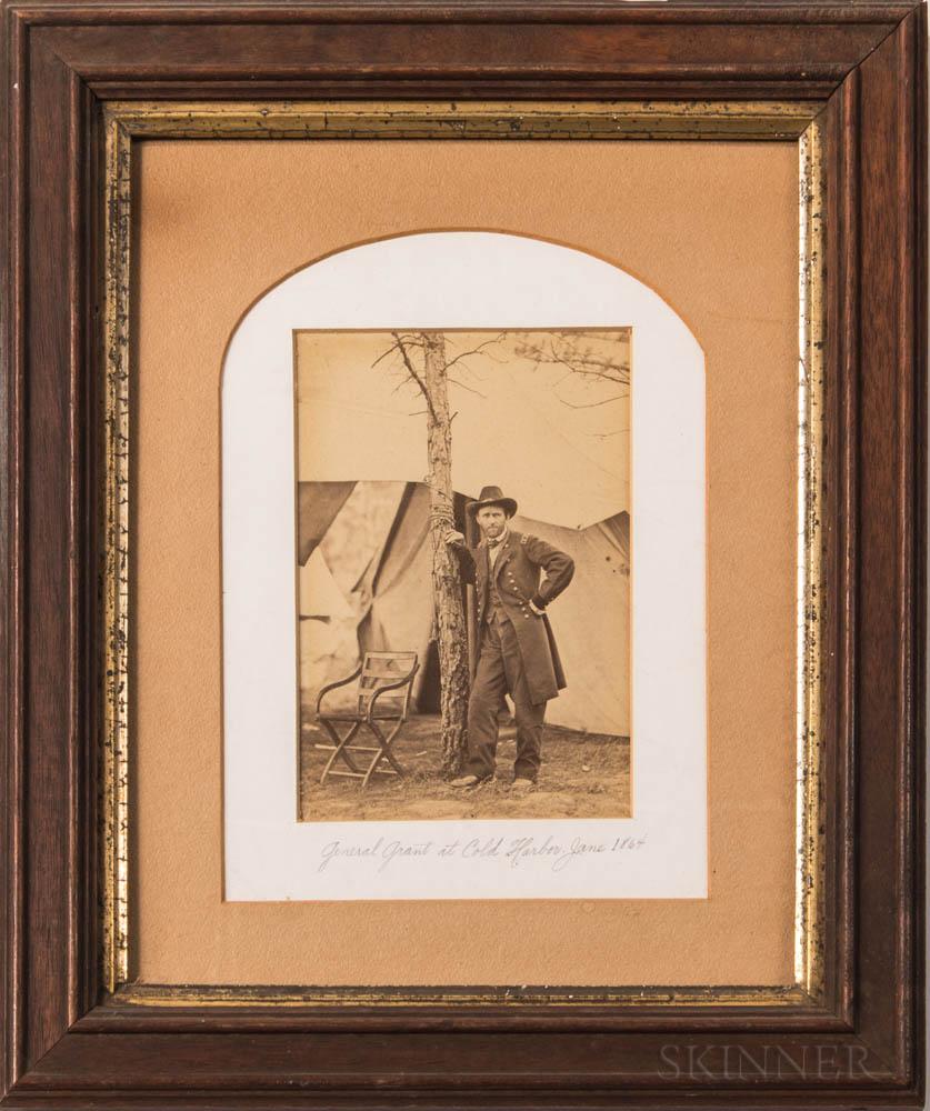 Albumen Print of General Ulysses S. Grant