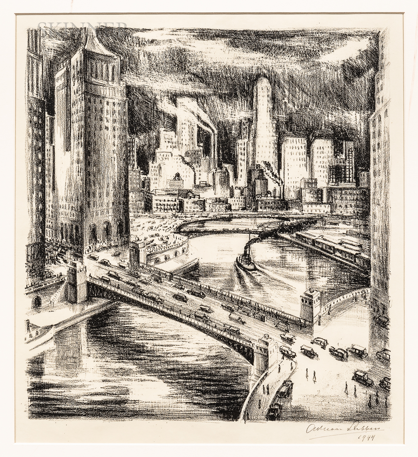 Adriaan Lubbers (Dutch/American, 1892-1954)      Chicago
