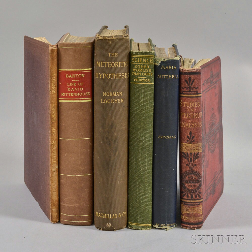 Six Titles on the Sciences and Astronomers