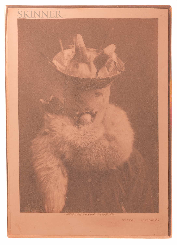 Edward Curtis (American, 1868-1952)      Gaaskidi-Navaho