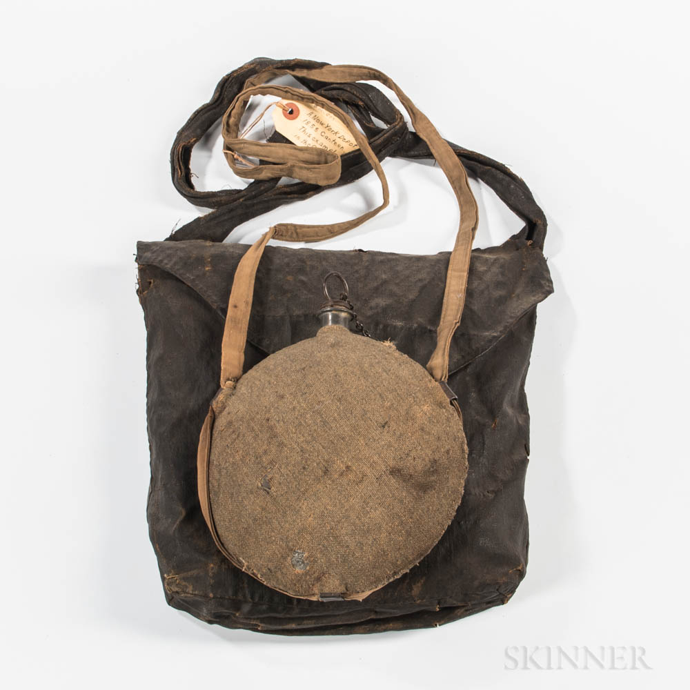 Model 1851 Haversack and Model 1858 Canteen