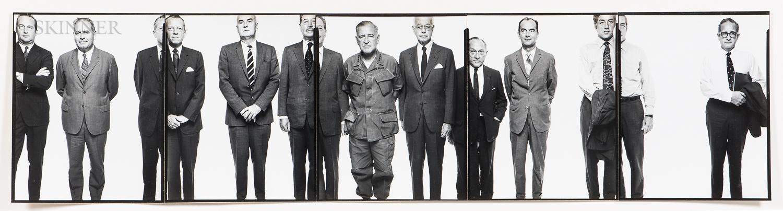 Richard Avedon (American, 1923-2004)      The Mission Council, Saigon, April 28
