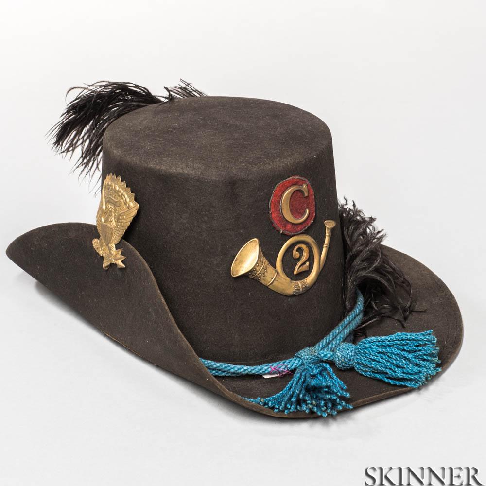 """U.S. Model 1858 """"Hardee"""" Dress Hat"""
