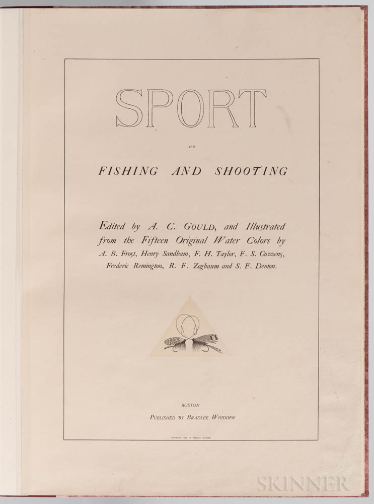 Gould, Arthur Corbin (1850-1903) Sport or Fishing and Shooting.