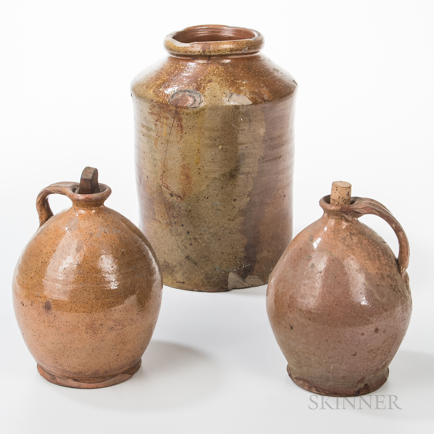 Three Pieces of Pottery