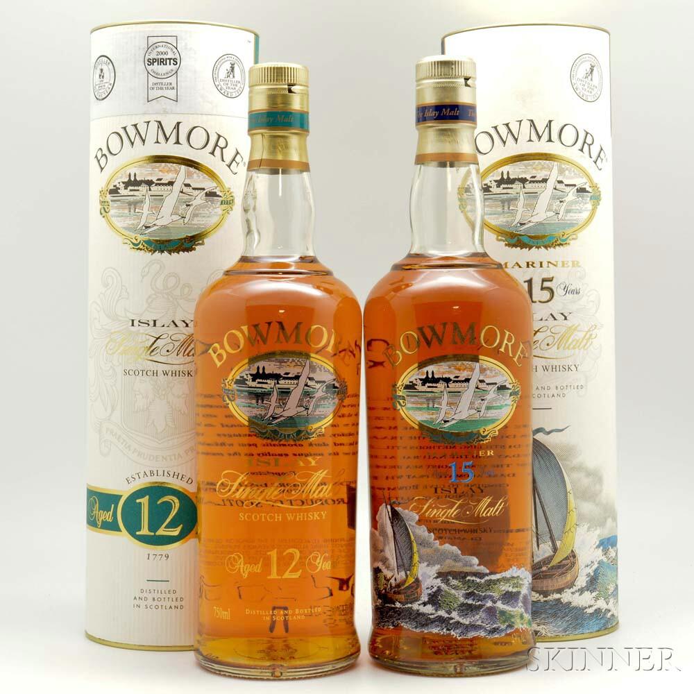 Bowmore, 2 750ml bottles (ot)