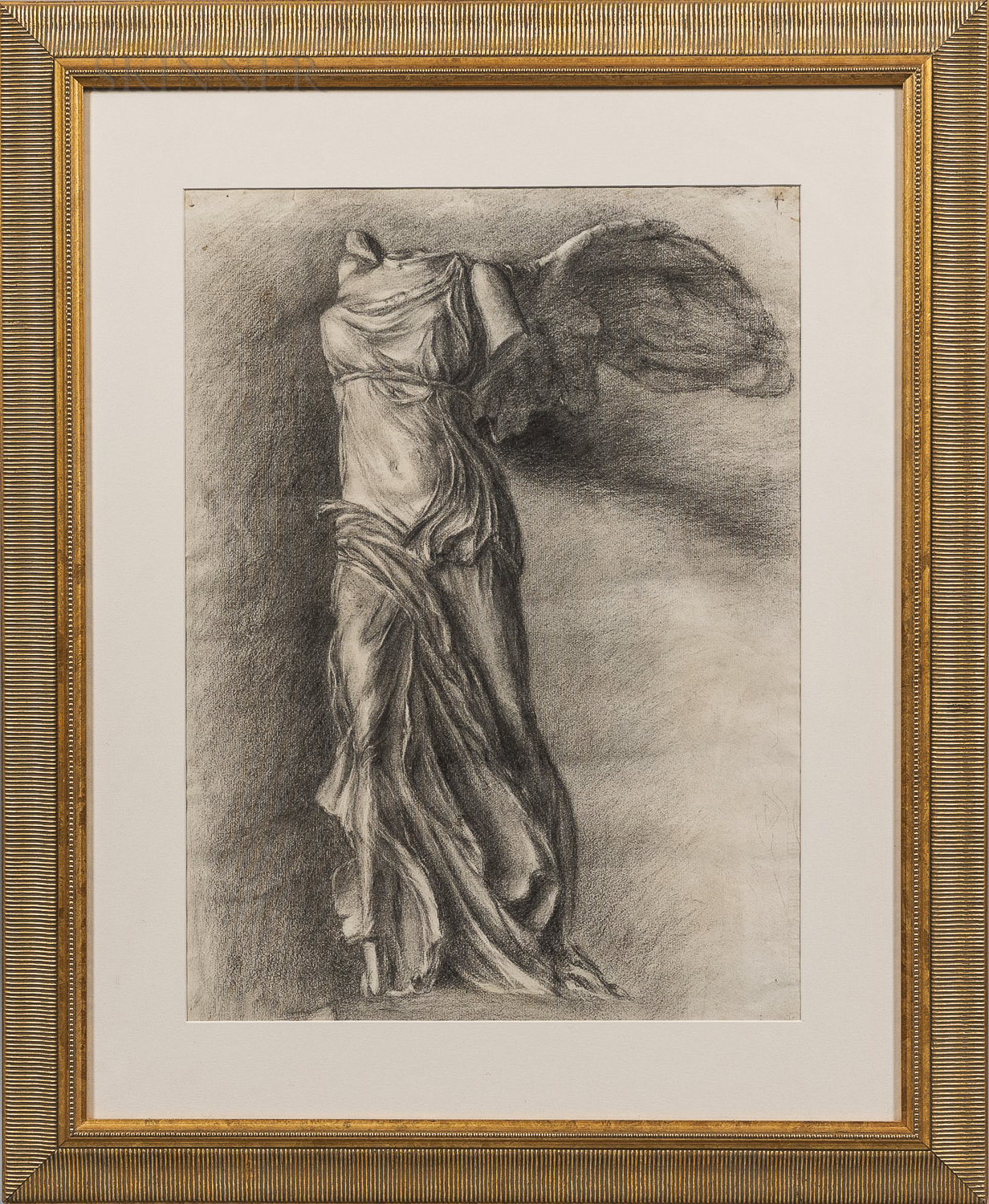 Attributed to Marion Boyd Allen (American, 1862-1941)      The Winged Victory of Samothrace.