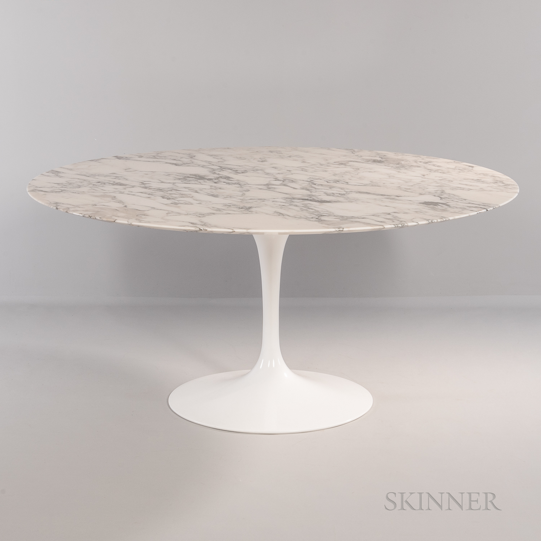 Eero Saarinen (1910-1961) for Knoll Studios Tulip Dining Table