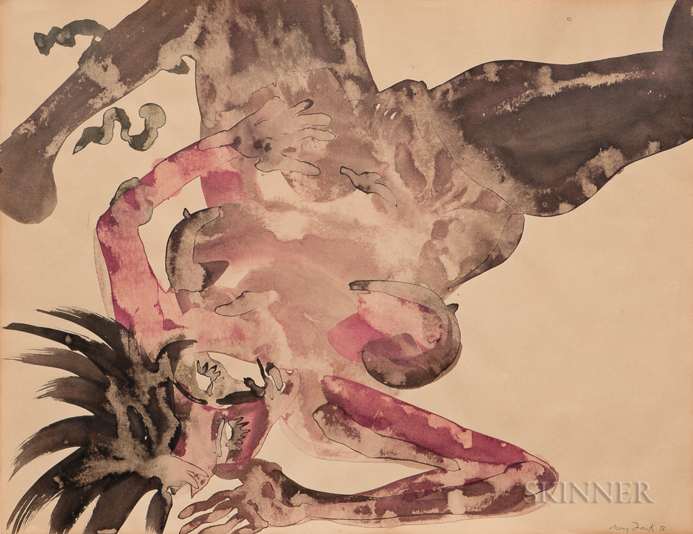 Mary Frank (American, b. 1933)      Untitled (Woman)