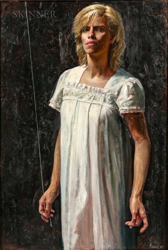 Steven Assael (American, b. 1957)      Christina