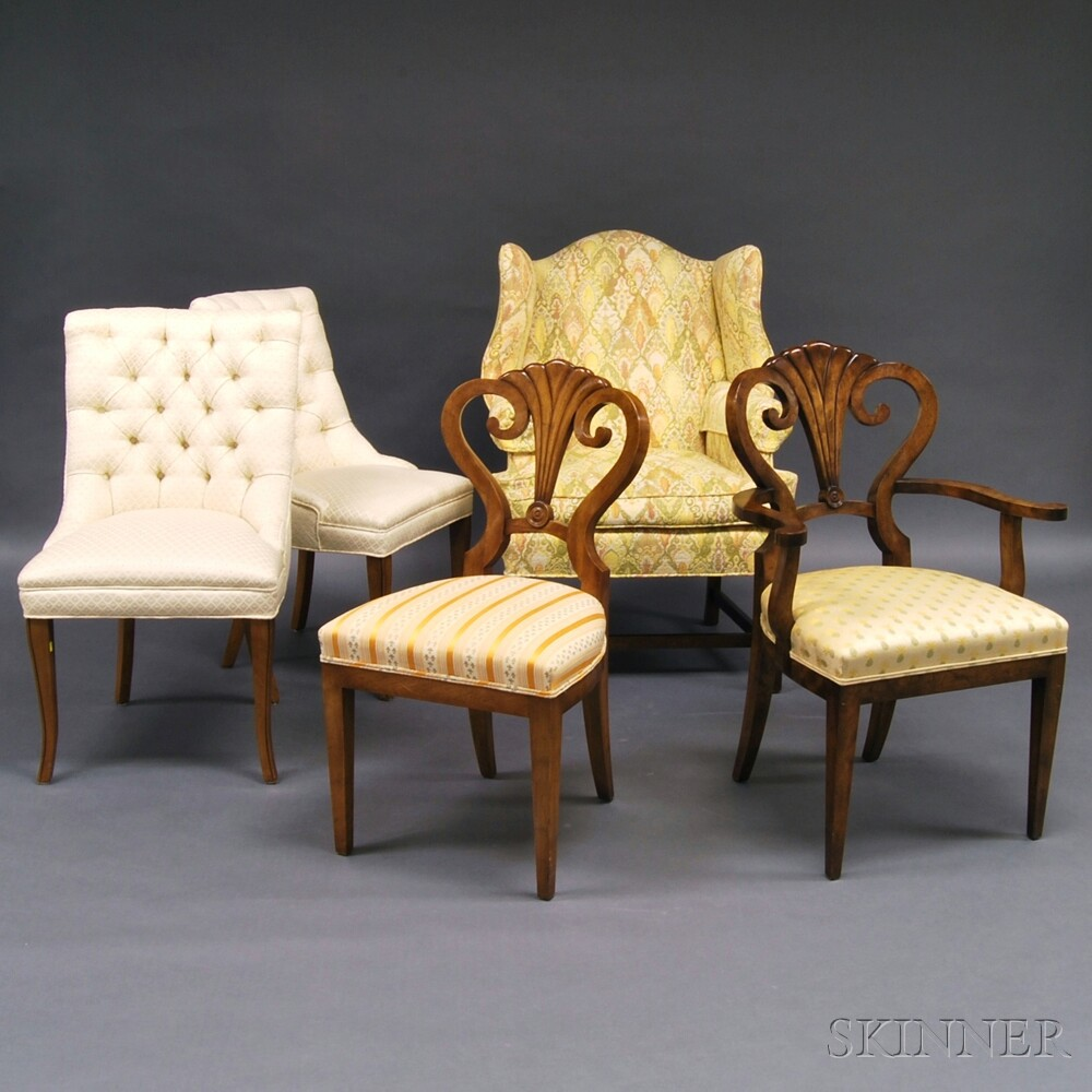 Five Reproduction Chairs