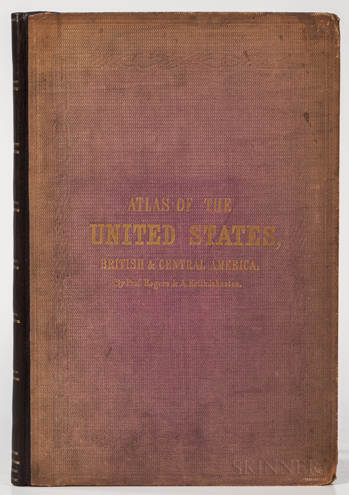 United States. Henry Darwin Rogers (1808-1866) and Alexander Keith Johnston (1804-1871) Atlas of the United States of North America.