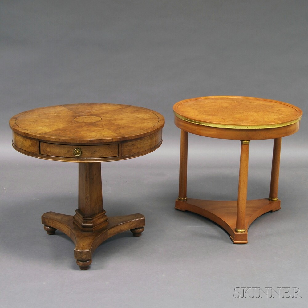 Two Old Colony Side Tables