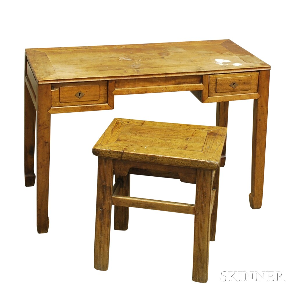 child 39 s desk with drawers sale number 2701m lot number 411 skinner auctioneers. Black Bedroom Furniture Sets. Home Design Ideas