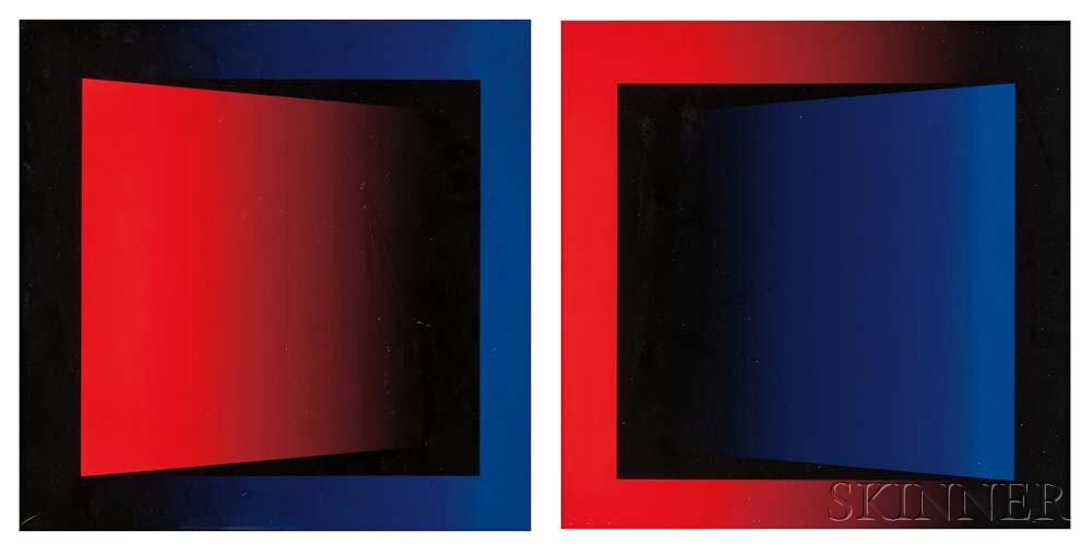 Bonnie Porter (American, b. 1959)      Two Works: Issue #5