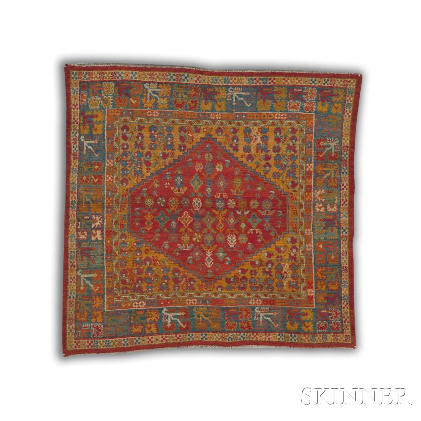 Antique Ushak Rug