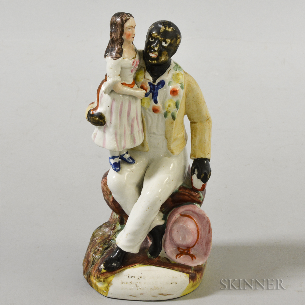 """Staffordshire """"Uncle Tom"""" Figure"""