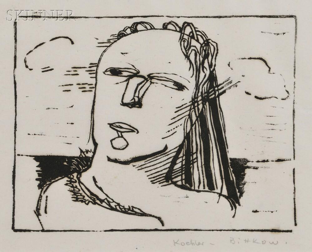 Margarete Koehler-Bittkow (German/American, 1898-1964)      Head.