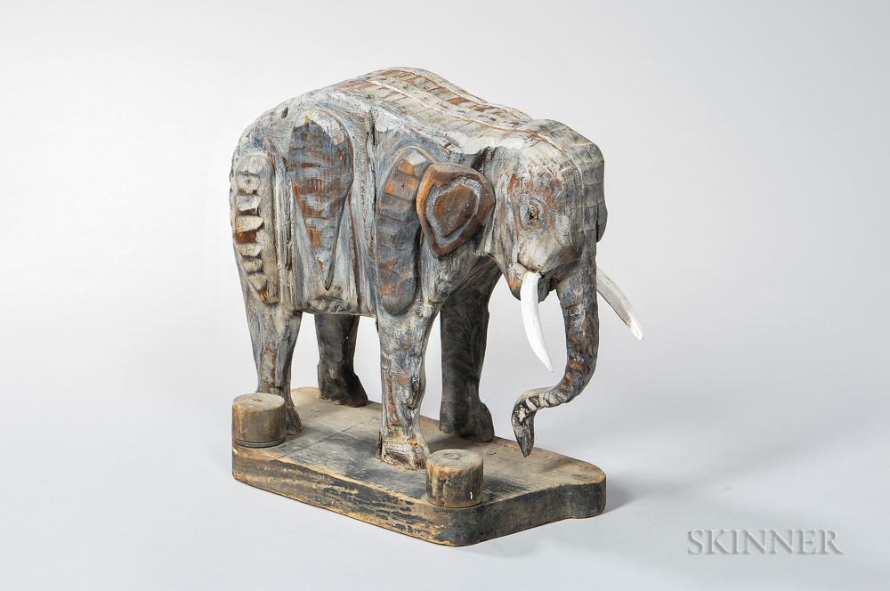 Bernard Langlais (American, 1923-1977)      Elephant