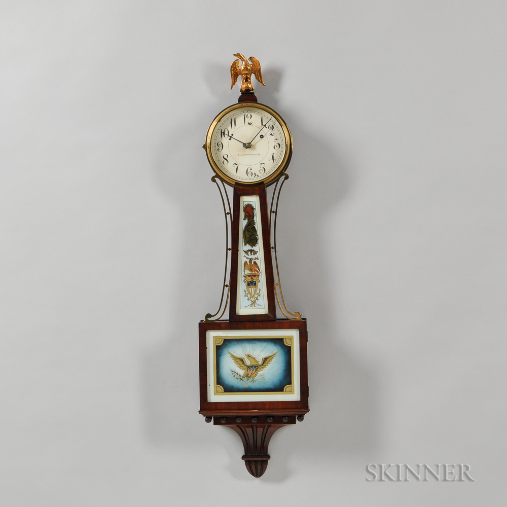 Bailey Banks Biddle Co Mahogany Banjo Clock Sale Number 3093m Lot Number 163 Skinner Auctioneers