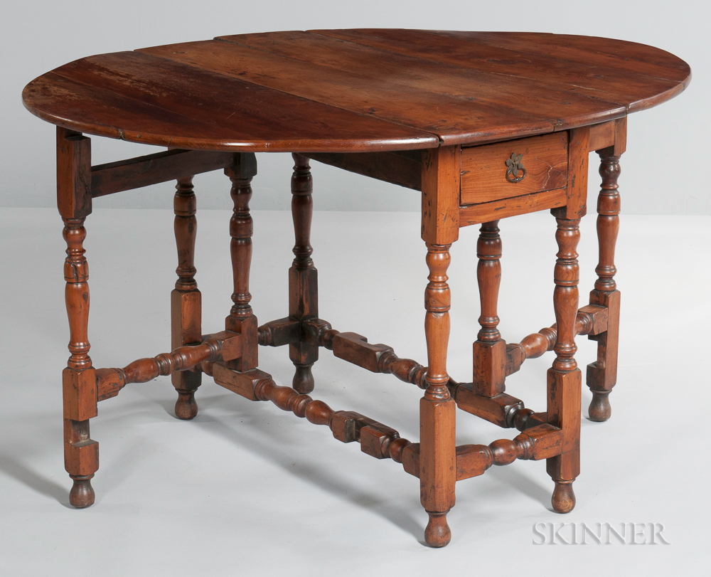 William and Mary-style Gate-leg Table