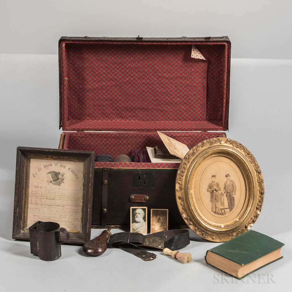 Group of Civil War-era Related Items