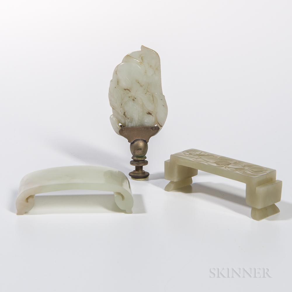 Three Jade and Jadeite Items