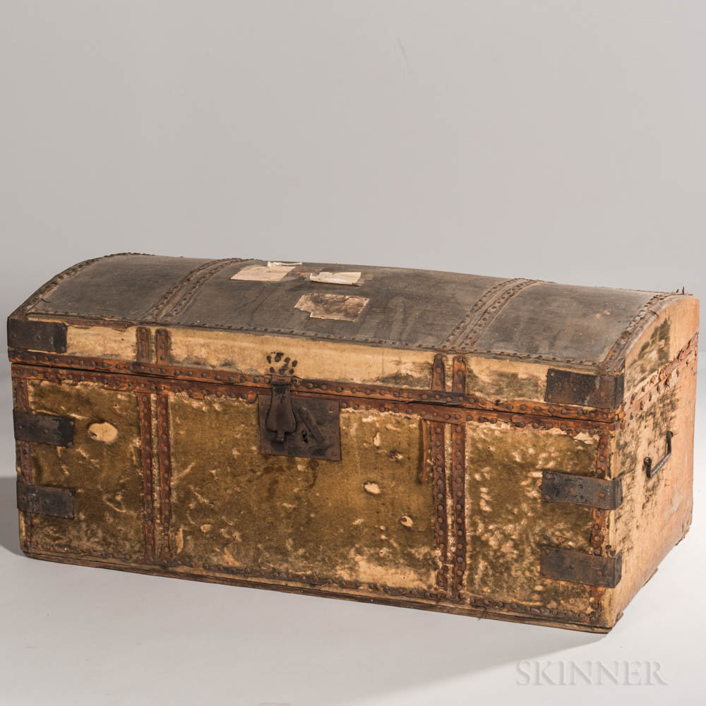 Major General Benjamin Lincoln's Dome-top Military Campaign Chest