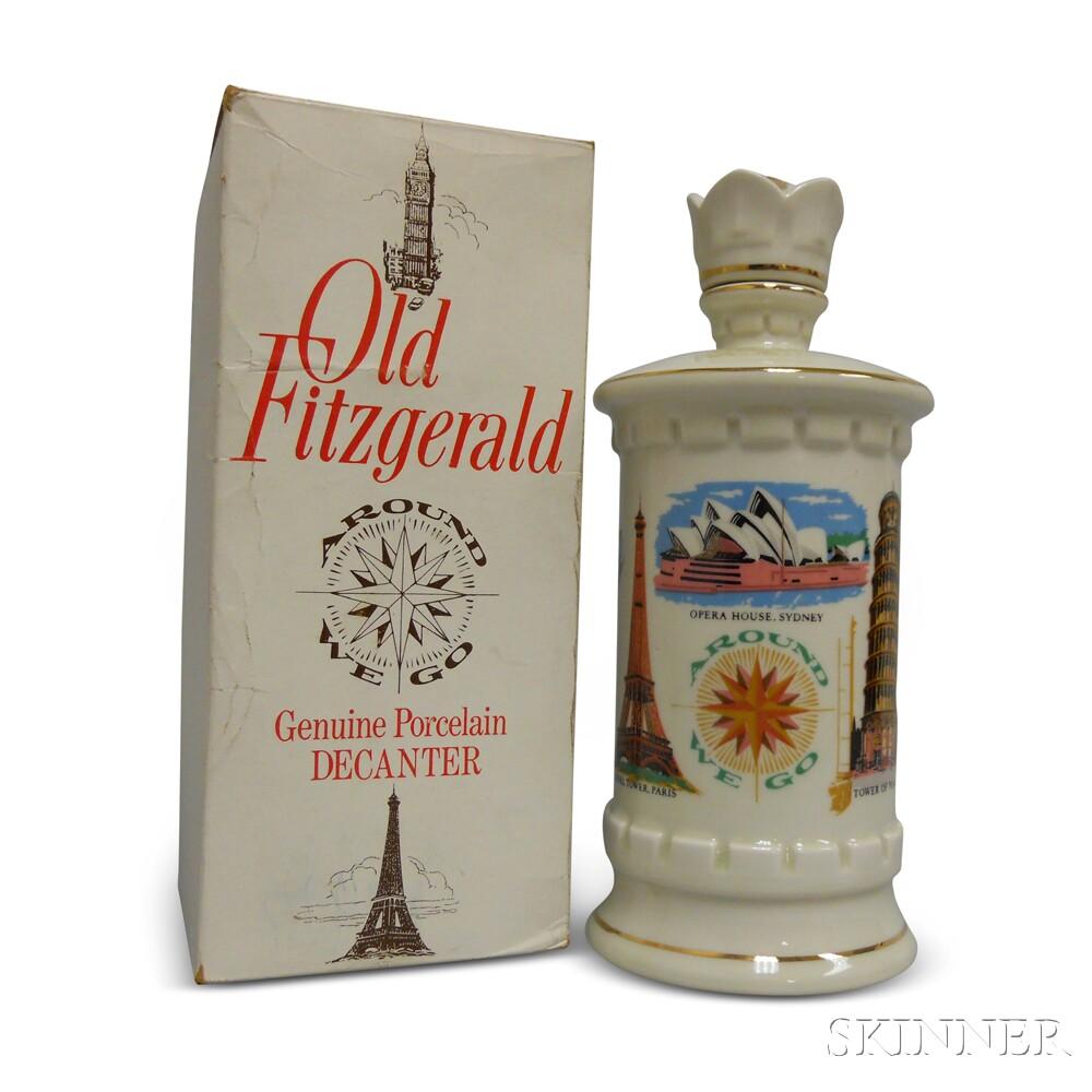 Old Fitzgerald Bourbon Around We Go Decanter, 1 750ml bottle