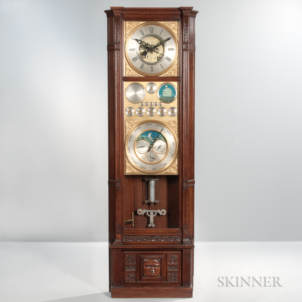 Rare Tiffany & Co. No. 2 Astronomical Master Regulator