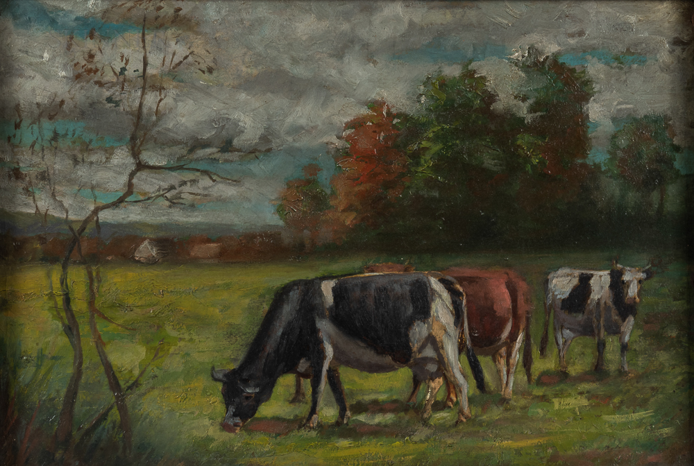 American School, 20th Century      Cows in a Field