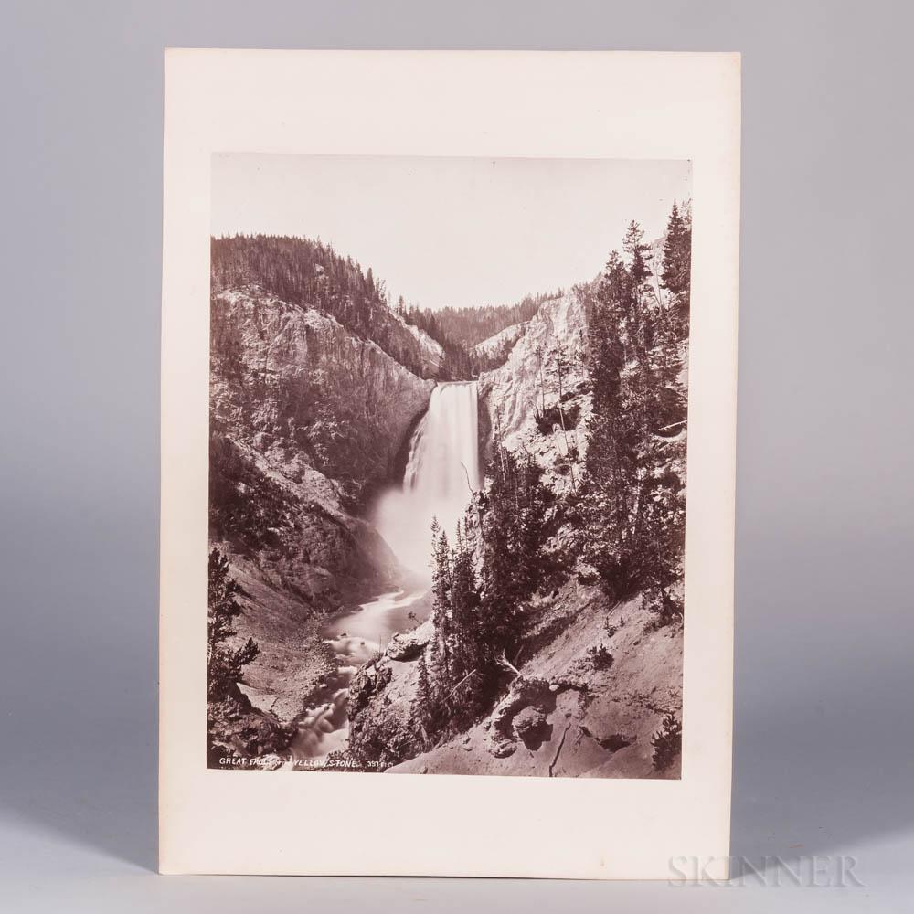 Jackson, William Henry (1843-1942) Twenty-four Large Albumen Photographs of the Yellowstone National Park and the Far West c. 1817-1872