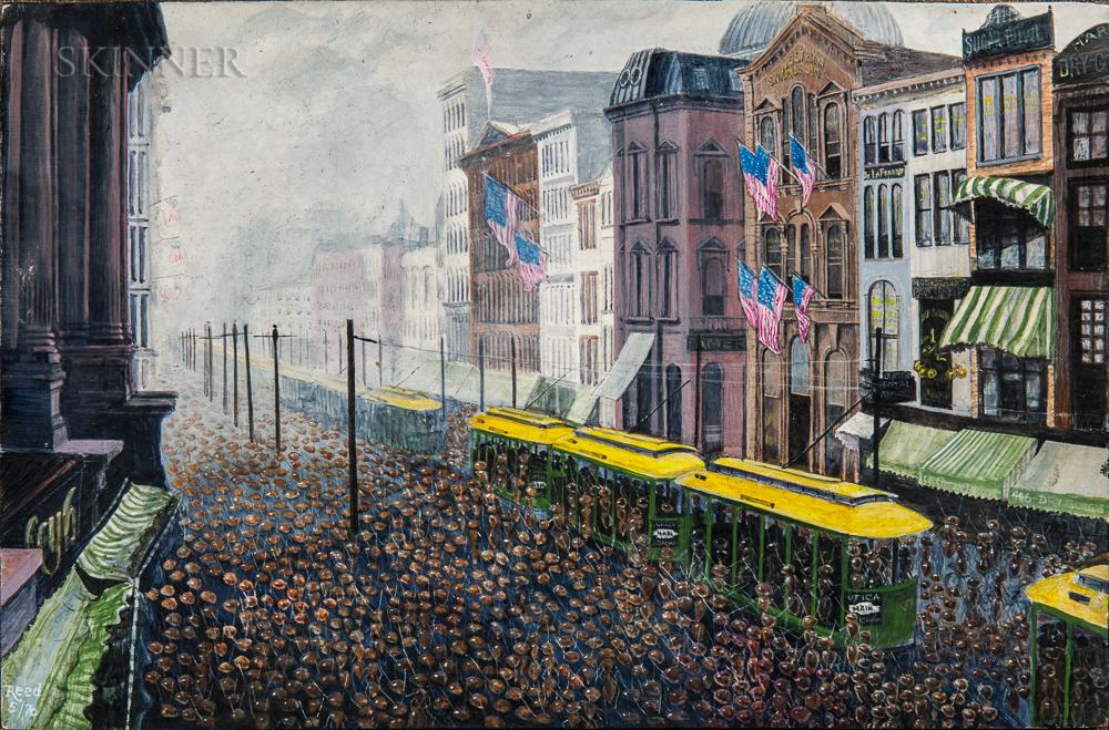 Anglo/American School, 20th Century      Labor Day, Main Street, Buffalo, New York