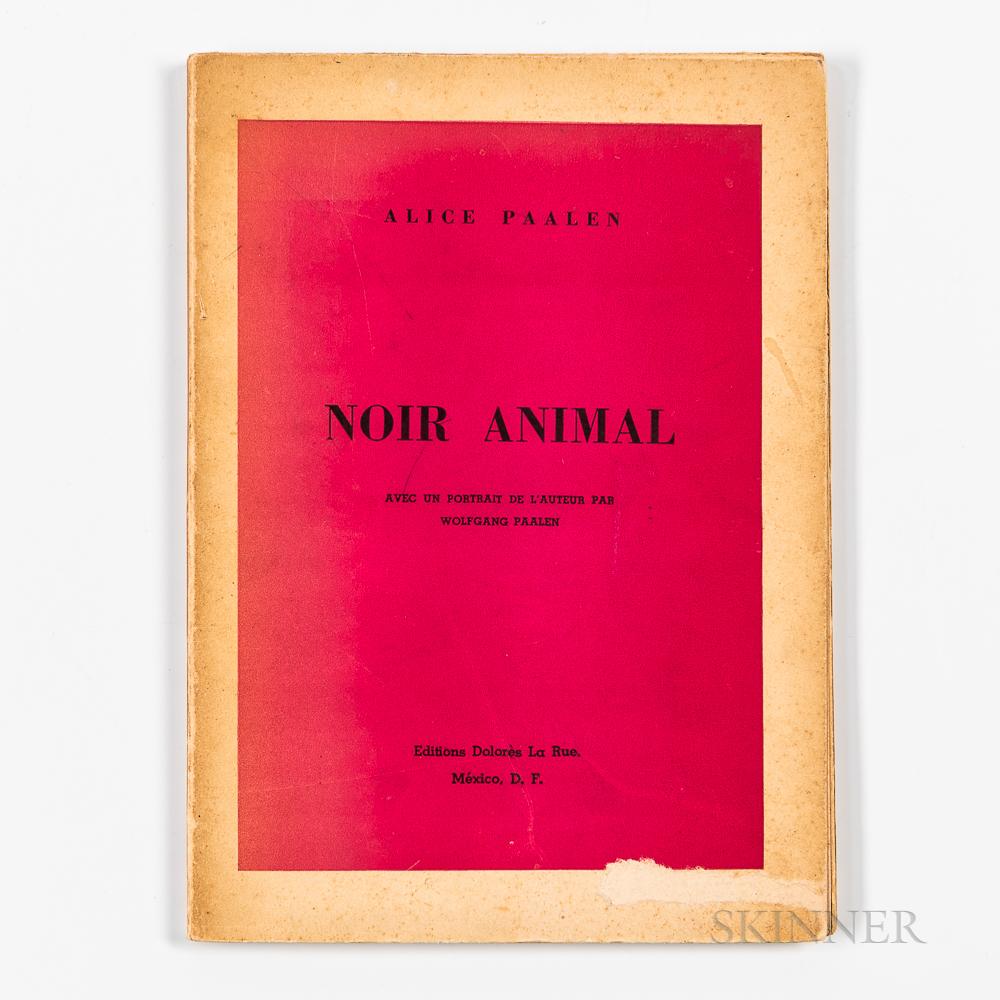 Paalen, Alice (1904-1987) Noir Animal.