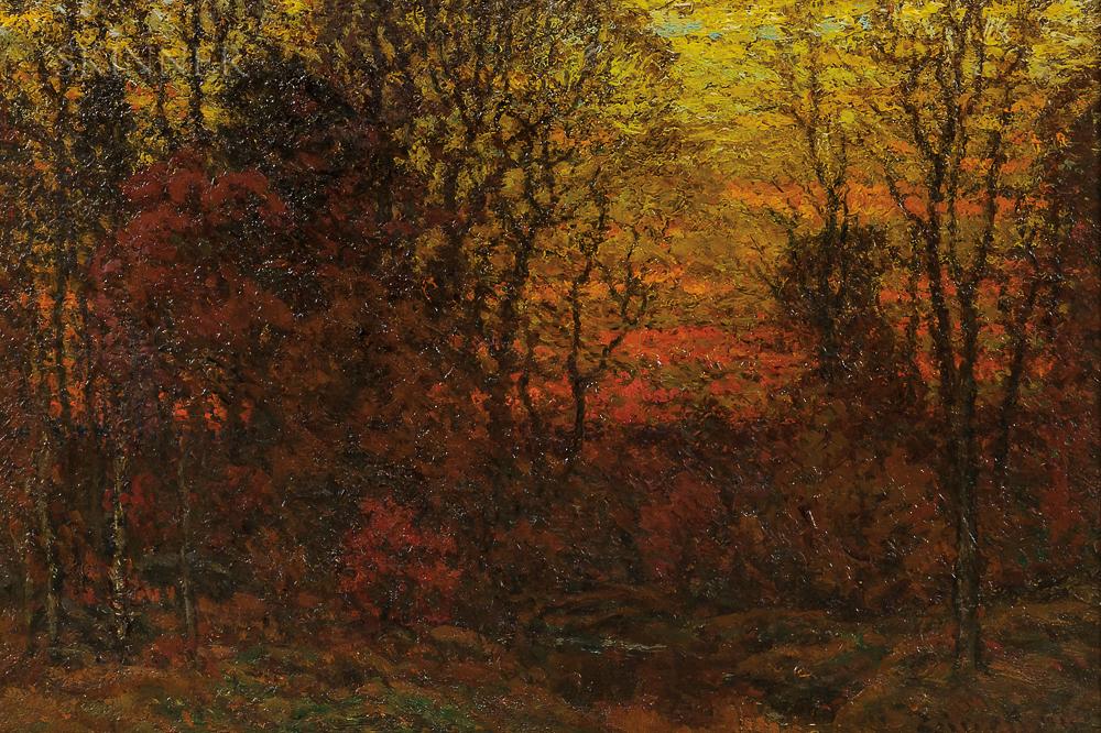 John Joseph Enneking (American, 1841-1916)      November Twilight