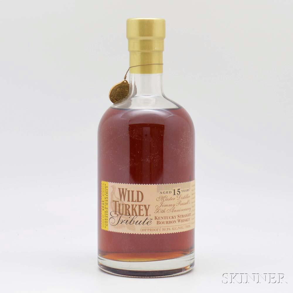 Wild Turkey Tribute 15 Years Old, 1 750ml bottle