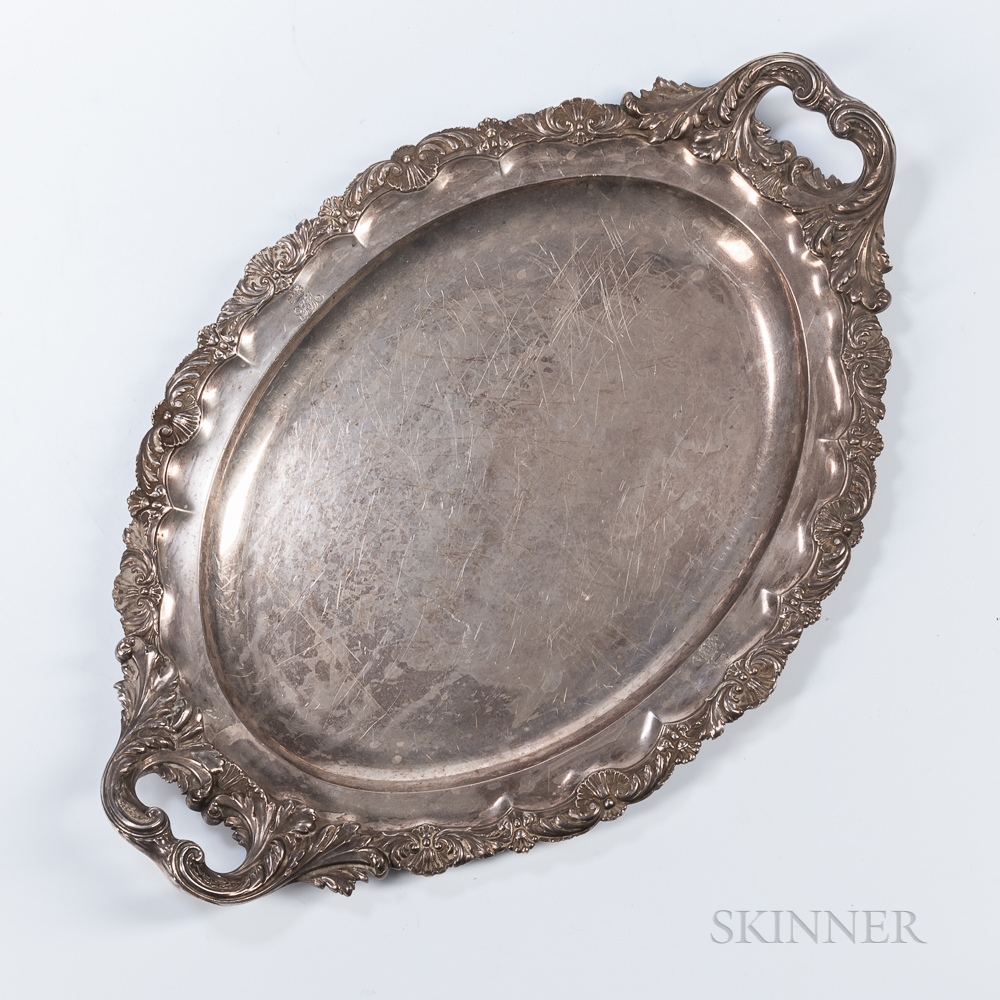 George III Sterling Silver Tray
