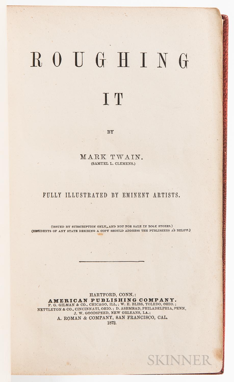 Twain, Mark (1835-1910), Roughing It.