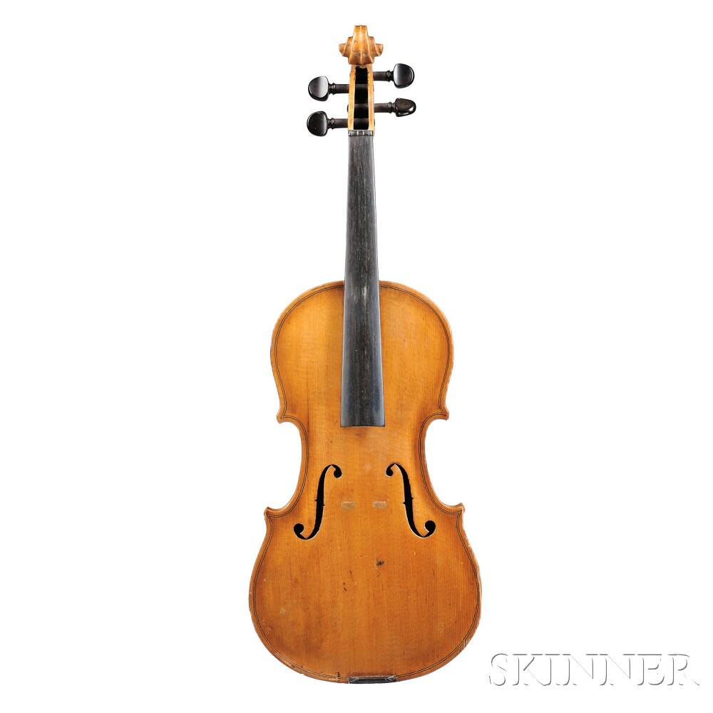 child 39 s 3 4 size violin sale number 2688b lot number 267 skinner auctioneers. Black Bedroom Furniture Sets. Home Design Ideas