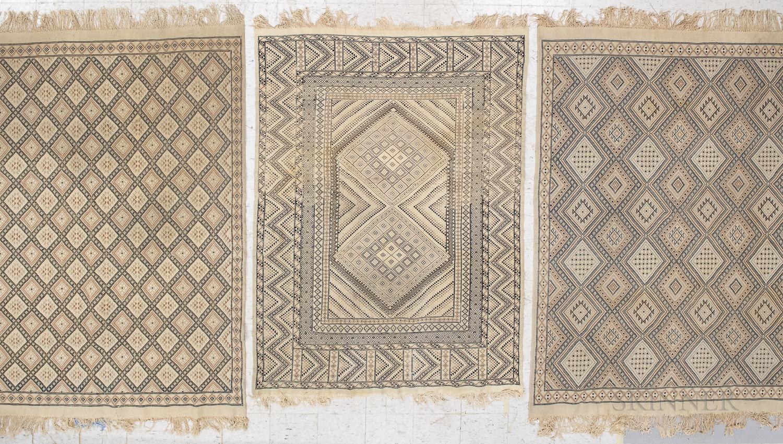 Three Tunisian Rugs